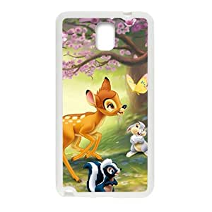 Happy Lovely deer butterfly rabbit squirrel Cell Phone Case for Samsung Galaxy Note3