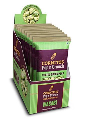 Cornitos Coated Green Peas, Wasabi, 234g