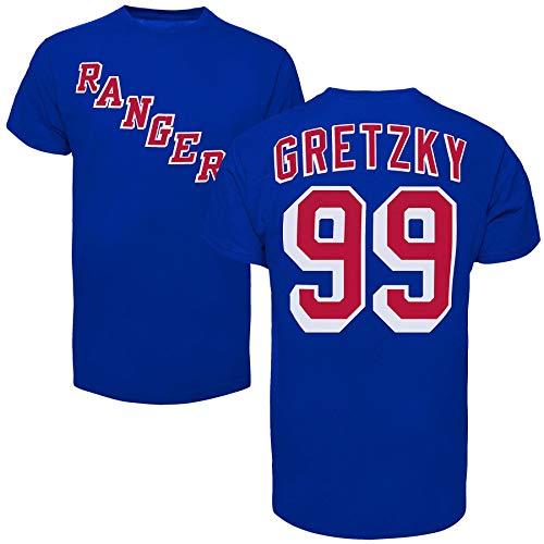'47 New York Rangers Wayne Gretzky Vintage NHL Alumni T-Shirt - ()