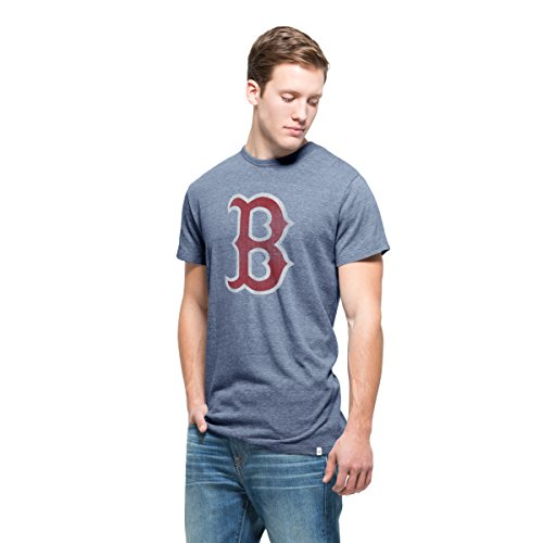 MLB Boston Red Sox Men's '47 Tri-State Tee, X-Large, Nightfall