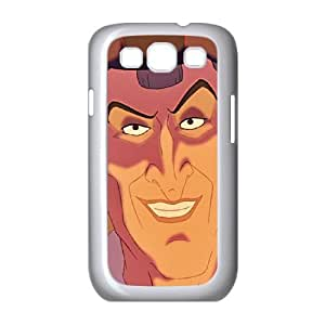 Samsung Galaxy S3 9300 Cell Phone Case White Disney The Hunchback of Notre Dame Character Judge Claude Frollo 007 MWN3873350