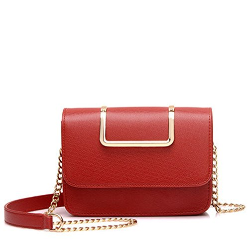 Meaeo Small Square Bag New Bag Woman With White Diagonal Fashion Chain Network