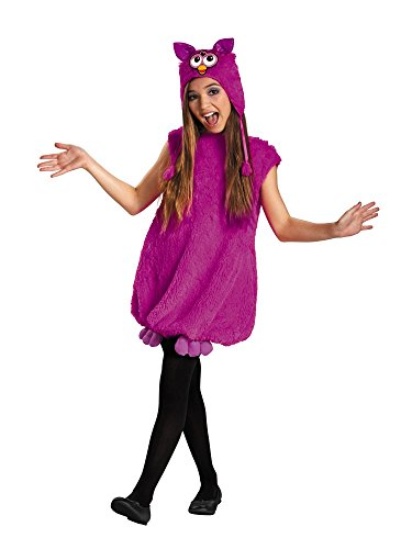 Voodoo Purple Furby Deluxe Child Costume - (Furby Costumes)