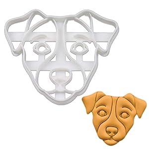 Jack Russell Terrier Face cookie cutter, 1 piece - Bakerlogy 1