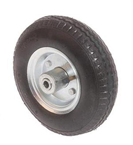 12'' Pneumatic Wheel 50 PSI, 4'' Hub Length, 5/8'' Ball Bearing