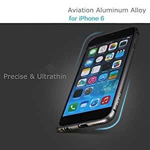 MOM ships in 48 hours ROCK Slim Guard Series Aviation Aluminum Alloy Mental Frame for iPhone 6 (Assorted Colors) , Red