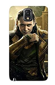 Galaxy Note 3 Case Slim [ultra Fit] Loki Thor The Dark World Protective Case Cover(best Gift Choice For Friends)