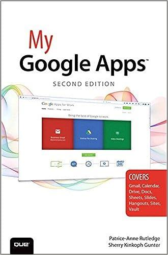 Amazon My Google Apps My Ebook Patrice Anne Rutledge
