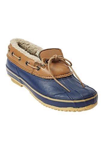 Duck Shoe - Comfortview Women's Wide The Storm All-Weather Shoe Navy,8 1/2 W