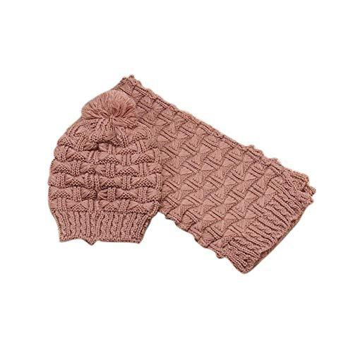 sciarpa Alian Collant Cappello Cappucci ispessimento cappello 8 Set a colori Beanie donne Rosso per morta testa ragazze per Ball a maglia le Beige avYxqAward