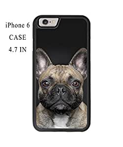 Super Funny Cute Dog Face Plastic and TPU Case Cover for iPhone 6 - 4.7 Inch (Laser Technology)