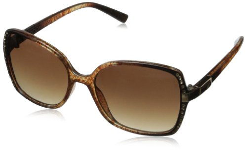 Rocawear R3154 Rectangular Sunglasses,Brown Animal,55 - Rocawear Eyeglasses