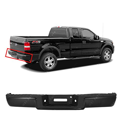 - MBI AUTO - Primered, Steel Complete Rear Bumper Assembly for 2006-2008 Ford F150 Pickup 06-08, FO1103137