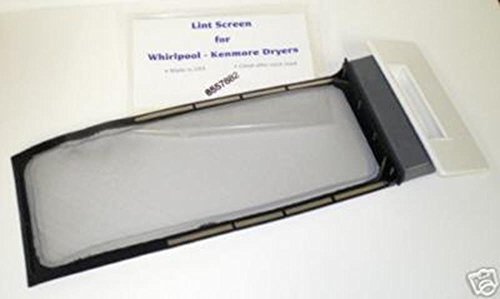 (Major Appliances 8557882 replacement for W10717210 Whirlpool Kenmore Dryer Lint Screen)