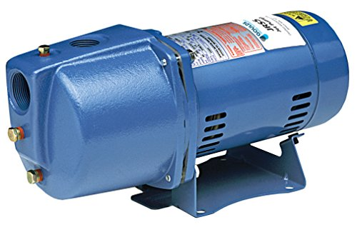 Goulds JRS5 Shallow Water Well Jet Pump, 1/2 HP, Single Phase, 115/230 - Shallow Well Pump Goulds Jet