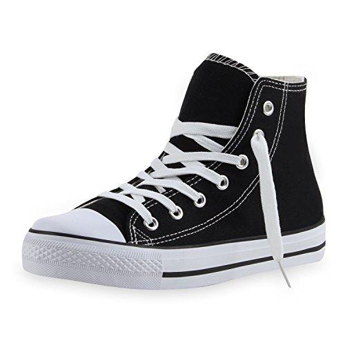 Japado - Zapatillas Mujer Negro - negro y blanco