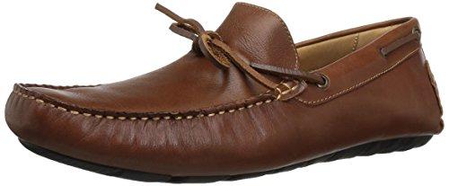 G.H. Bass & Co. Men's Wyatt Slip-On Loafer, Dark Tan, 10 M US