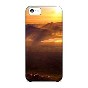 Sanp On Case Cover Protector For Iphone 5c (torii At Montain)