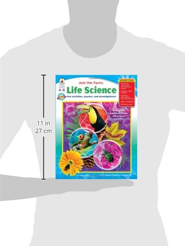Just the Facts: Life Science, Grades 4 - 6: Fun activities ...