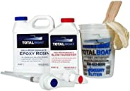 TotalBoat High Performance Epoxy Kits, Crystal Clear Marine Grade Resin and Hardener for Woodworking, Fibergla