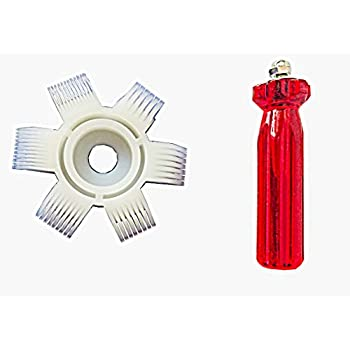 MengYoo Air Conditioner Fin Comb,AC Condenser Fin Straightener Cleaner Evaporator Radiator Fin Carding Tool