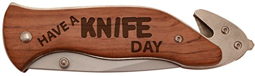 Father's Day Gift Have a Knife Day Gag Gift Laser Engraved S