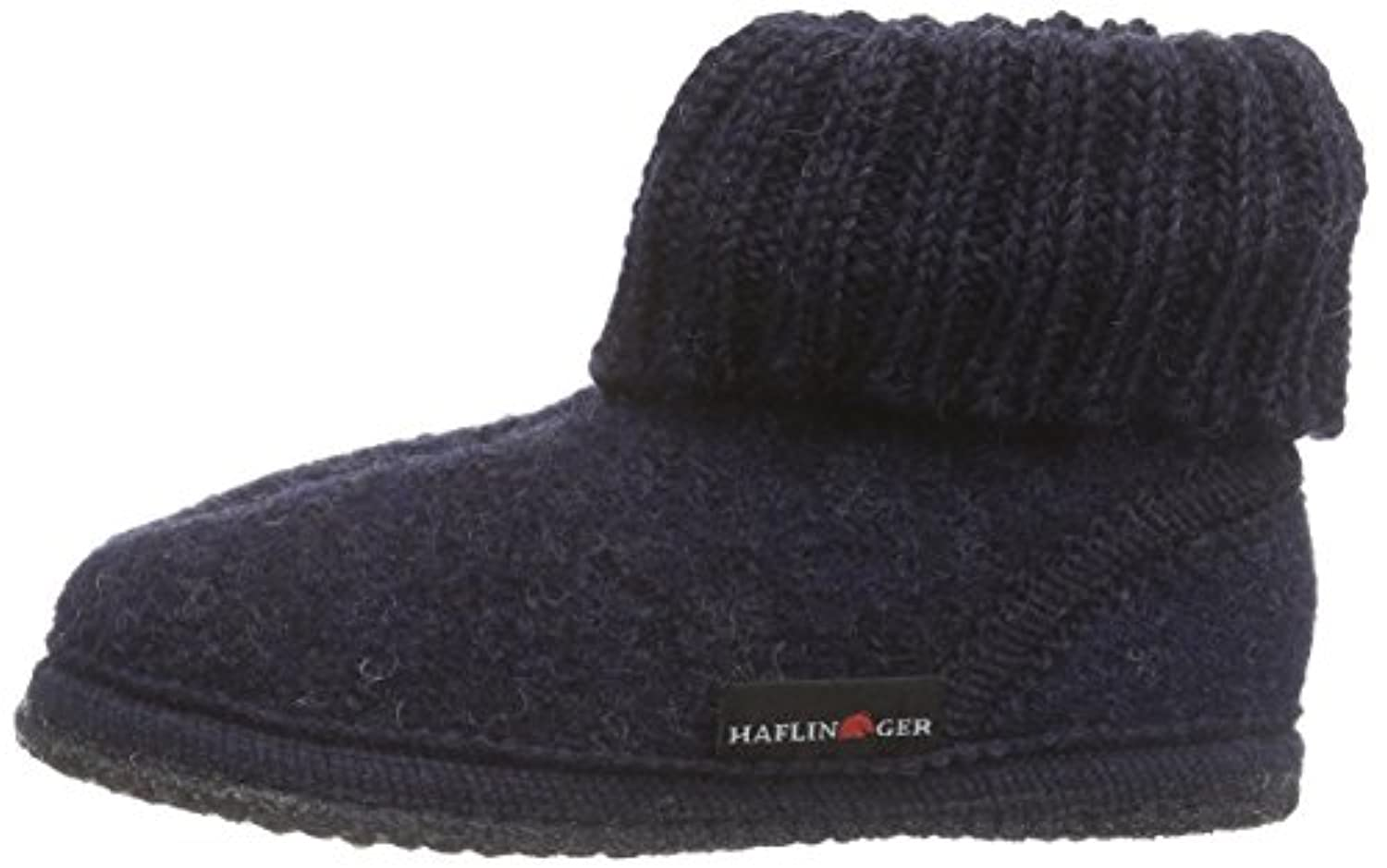 Haflinger Boys' Karl Slippers, Blue (79 Kapitän), 1 UK