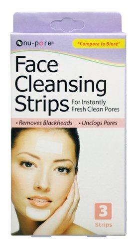 (Nu-Pore Face Cleansing Strips, Bulk Case of 48 )