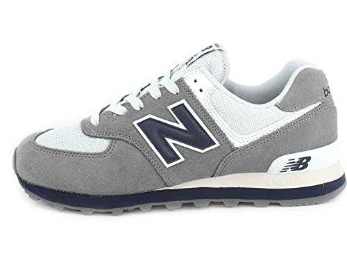 New Balance 574v2, Sneaker Uomo Gunmetal/Navy