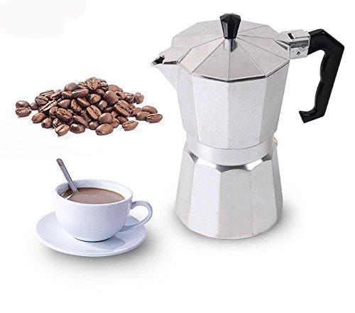 hitsan duolvqi 136912taza estufa Moka–Cafetera italiana parte superior Moka Espresso cafetera expresso...