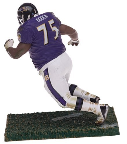 Jonathan Ogden with Purple Ravens Jersey NFL Series 9 Figure