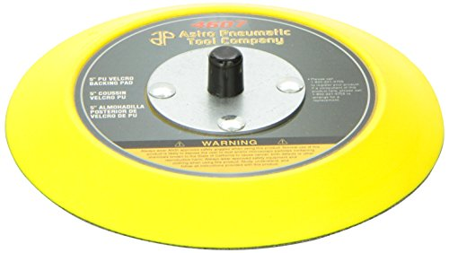 Astro 4607 5'' PU Velcro Backing Pad by Astro Pneumatic Tool
