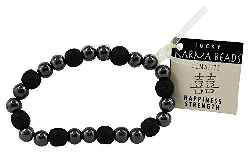 Zorbitz Inc. - Happiness/Strength Black - Karmalogy Beads