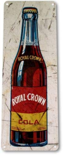 Amazon.com: TIN Sign Royal Crown RC Cola Bottle Soda Rustic ...