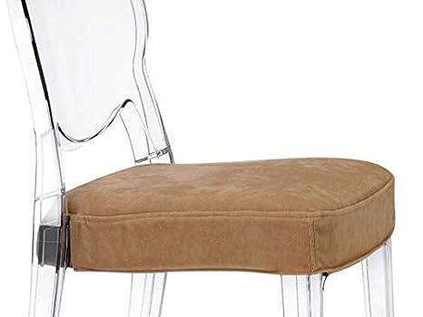 Scab igloo chair comfort sedia in policarbonato con cuscino