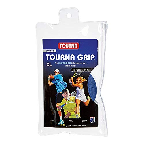 Tourna Grip XL Original Dry Feel Tennis Grip - 10 Pack