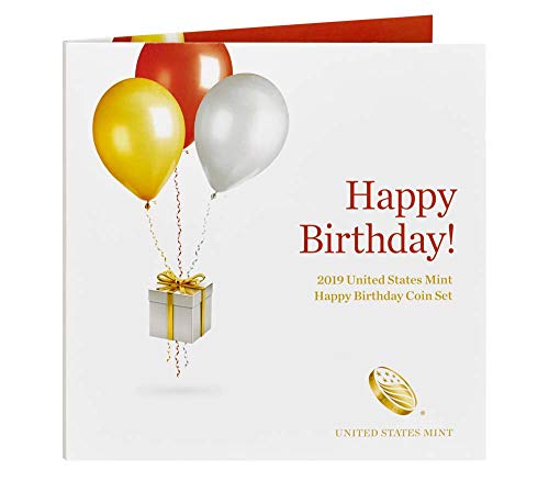 2019 S Happy Birthday Proof Coin Set US Mint - Birthday Coin Set