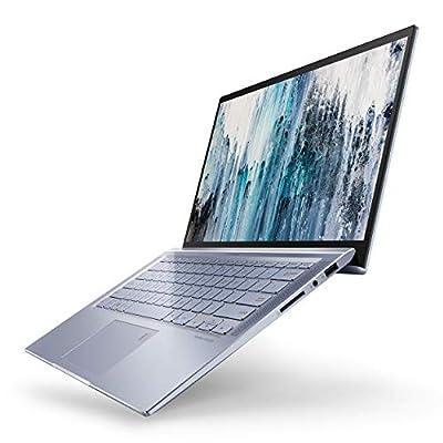 "ASUS ZenBook 14 Ultra Thin and Light Laptop, 4-Way NanoEdge 14"" FHD, Intel Core I5-8265U, 8GB RAM, 256GB Nvme PCIe SSD, Numberpad, Wi-Fi 5, Windows 10, Silver Blue, UX431FA-ES51"
