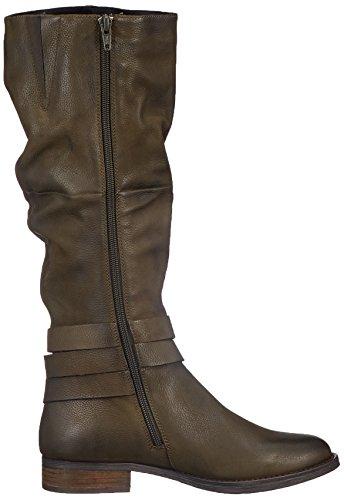 Green Boot USA 05106 Camperas Mujer SPM Botas High para Kaki Verde EzgnqwPq