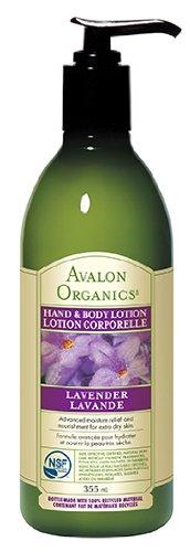 Avalon Organics Hand lavande et lotion pour le corps, 12 onces
