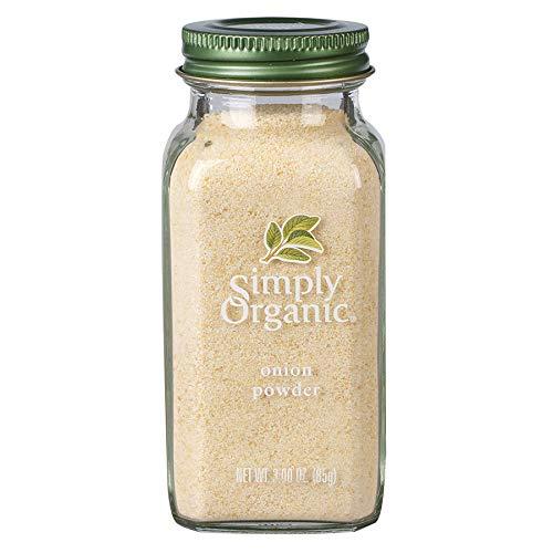 Simply Organic White Onion Powder, Certified Organic   3 oz   Allium cepa