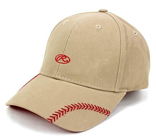 Rawlings Change Up Ball Cap (Khaki) (Rawlings Baseball Hat)