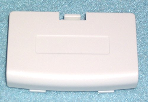 Video Game Accessories New ARCTIC WHITE Battery Cover for Game Boy Advance System -GBA Replacement Door