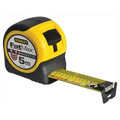 New Stanley FatMax Magnetic Blade Measure Tape 5m FMHT0-33864 Precise Engineered