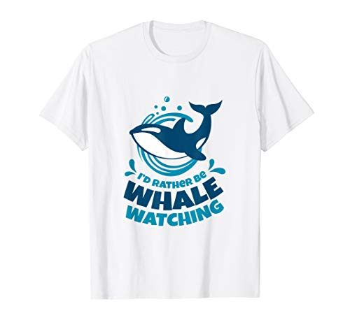 (Whale Watching T-Shirt Gifts For Whale Watcher)