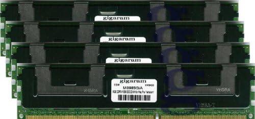 Apple# 4 x MB983G//A DDR3-1066 ECC DIMM for Apple Xserve 8-Core 2.60Ghz Intel Xeon Nehalem Gigaram 32GB 4x8GB