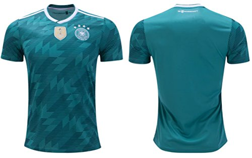 Germany Soccer Jersey Adult Mens Sizes Away Football World Cup Premium Gift (Medium, Short Sleeve)