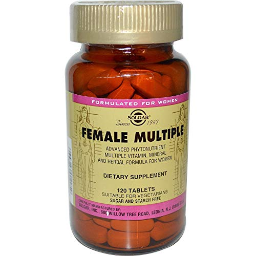 Solgar – Female Multiple, 120 Tablets