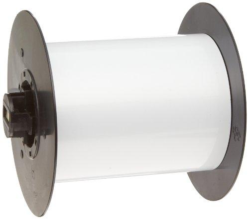 Brady B30C-4250-509-WT 25 feet Length x 4.250'' Width, B-509 Polyester, White BBP31 Magnetic Supply by Brady