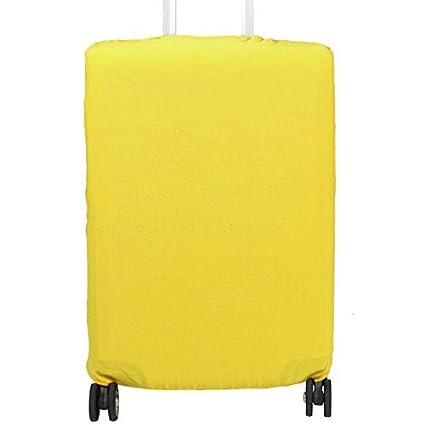 eDealMax poliéster elástico maleta de equipaje lavable a prueba de polvo cubierta del protector de 26